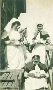 Enfermeras británicas durante la IWW