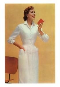 enfermera años 50