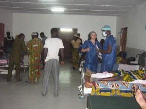 En el hospital. Foto: @mipili75