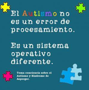 el autismo no es
